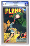 Golden Age (1938-1955):Science Fiction, Planet Comics #47 (Fiction House, 1947) CGC FN 6.0 Off-white pages. Lily Renee, George Evans, and Murphy Anderson art. Overs...