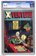 Golden Age (1938-1955):Horror, X-Venture #1 (Victory Magazines, 1947) CGC VG 4.0 Cream tooff-white pages. Atom Wizard and Mystery Shadow are featured.Ove...
