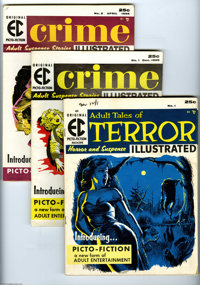 EC Picto-Fiction Magazines Group (EC, 1955-56) Condition: Average FN. This is almost a full run of EC's short-lived &quo...