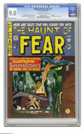 Golden Age (1938-1955):Horror, Haunt of Fear #15 (#1) (EC, 1950) CGC VF/NM 9.0 Off-white to whitepages. This is the first issue of one of EC's famous horr...