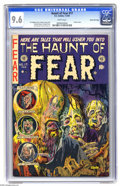 Golden Age (1938-1955):Horror, Haunt of Fear #17 Gaines File pedigree, 6/12 (EC, 1953) CGC NM+ 9.6White pages. Don't look too long at this classic cover b...