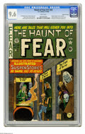 Golden Age (1938-1955):Horror, Haunt of Fear #17 (#3) Gaines File pedigree (EC, 1950) CGC NM+ 9.6White pages. No copy of this issue has been graded higher...