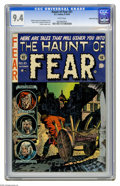 Golden Age (1938-1955):Horror, Haunt of Fear #21 Gaines File pedigree 1/10 (EC, 1953) CGC NM 9.4White pages. Graham Ingels cover. Art by Ingels, Jack Davi...