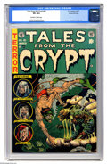 Golden Age (1938-1955):Horror, Tales From the Crypt #40 Gaines File pedigree 9/12 (EC, 1954) CGCVF+ 8.5 Off-white to white pages. This comic was mentioned...