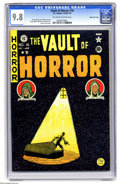 Golden Age (1938-1955):Horror, Vault of Horror #16 Gaines File pedigree (EC, 1950) CGC NM/MT 9.8 Off-white to white pages. If perfection is your goal as a ...