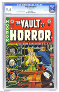 Golden Age (1938-1955):Horror, Vault of Horror #35 Gaines File pedigree, 7/12 (EC, 1954) CGC NM9.4 White pages. Merry Christmas, Darling! This has to be t...