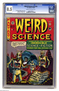 Golden Age (1938-1955):Science Fiction, Weird Science #14 (#3) (EC, 1950) CGC VF+ 8.5 Cream to off-whitepages. Post-apocalyptic scenarios were revisited several ti...