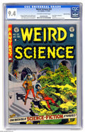 Golden Age (1938-1955):Horror, Weird Science #22 Gaines File pedigree (EC, 1953) CGC NM 9.4Off-white to white pages. For Wally Wood fans, this final issue...