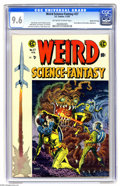 Golden Age (1938-1955):Science Fiction, Weird Science-Fantasy #27 Gaines File pedigree (EC, 1955) CGC NM+9.6 Off-white to white pages. It's time for some Bug Eyed ...