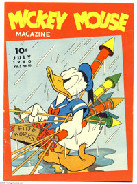 Mickey Mouse Magazine File Copies Group (K. K. Publications, Inc., 1939-40). These are the final issues of the series th...