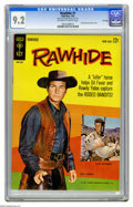 Silver Age (1956-1969):Western, Rawhide #1 File Copy (Gold Key, 1963) CGC NM- 9.2 Off-white towhite pages. Photo cover featuring Clint Eastwood and Eric Fl...