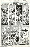 "Original Comic Art:Complete Story, Sal Buscema and Joe Sinnott (attributed) - Hostess Twinkie Ad/Story""Thor in the Storm Meets Its Master"" Original Art (1978). ... (2items)"