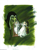 Original Comic Art:Covers, Western Publishing Artist - Grimm's Ghost Stories #2 Cover OriginalArt (Gold Key, 1972). A lovely bride is haunted by an ap...