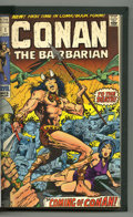 Bronze Age (1970-1979):Miscellaneous, Conan the Barbarian #1-25 Bound Volume (Marvel, 1970-73). Trimmedand bound copies of issues #1-25. Spine of the book is emb...