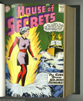 Silver Age (1956-1969):Mystery, House of Secrets #21-40 Bound Volume (DC, 1959-61). The firstappearance of Mark Merlin in #23 is a highlight of this bound ...