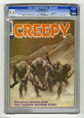 Magazines:Horror, Creepy #15 Pacific Coast pedigree (Warren, 1967) CGC NM- 9.2 Off-white pages. Classic cover by Frank Frazetta (legend has it...