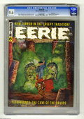 Magazines:Horror, Eerie #6 Pacific Coast pedigree (Warren, 1966) CGC NM+ 9.6 Off-white pages. Cover by Gray Morrow, plus a Monster Gallery fro...