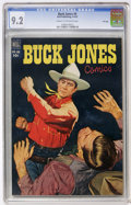 Golden Age (1938-1955):Western, Buck Jones #6 File Copy (Dell, 1952) CGC NM- 9.2 Cream to off-white pages....