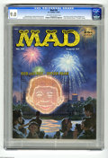 Magazines:Mad, Mad #34 (EC, 1957) CGC VF/NM 9.0 Off-white to white pages. Parodyof Seduction of the Innocent author Dr. Fredric Wertha...