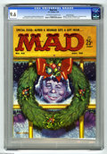Magazines:Mad, Mad #44 Gaines File pedigree (EC, 1959) CGC NM+ 9.6 Off-white to white pages. Forget about the Christmas-themed cover by Kel...