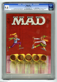 Mad #70 Gaines File pedigree (EC, 1962) CGC NM/MT 9.8 Off-white to white pages. Here's a pristine copy from Bill Gaines'...