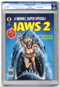 "Magazines:Miscellaneous, Marvel Comics Super Special #6 ""Jaws 2"" (Marvel, 1978) CGC NM/MT9.8 White pages. Gene Colan art. Bob Larkin cover. CGC note..."