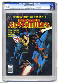 Marvel Preview #20 Bizarre Adventures (Marvel, 1980) CGC NM/MT 9.8 White pages. Howard Chaykin cover. Chaykin, George Pe...