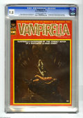 Magazines:Horror, Vampirella #8 (Warren, 1970) CGC NM/MT 9.8 Off-white to white pages. Vampirella, who had served as host of this title's horr...