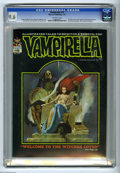 Magazines:Horror, Vampirella #15 (Warren, 1972) CGC NM+ 9.6 Off-white pages. 1971 Warren Creator Awards. Count Dracula cameo. Manuel Sanjulian...