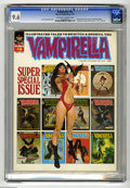 Magazines:Horror, Vampirella #19 (Warren, 1972) CGC NM+ 9.6 Off-white to white pages. Square bound. Text feature about the creation of Vampire...