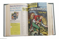 Classics Illustrated #1-169 Bound Volumes (Gilberton, 1943-69). This incredible group of ten bound volumes brings togeth...