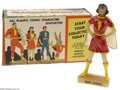 Memorabilia:Comic-Related, Mary Marvel Statuette (Kerr Co., 1946) Condition: NM. This lovely Mary Marvel statuette with its original box was one of a s...