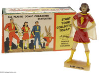 Mary Marvel Statuette (Kerr Co., 1946) Condition: NM. This lovely Mary Marvel statuette with its original box was one of...