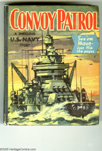 Big Little Book #1446 Convoy Patrol (Whitman, 1942) Condition: VF. Specially created for the Whitman Better Little Book...