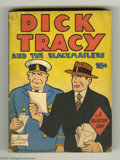 Golden Age (1938-1955):Crime, Dick Tracy and the Blackmailers - Fast-Action Book (Dell, 1939) Condition: VF. Dell's response to Big Little Books was its s...