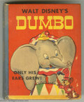 Golden Age (1938-1955):Cartoon Character, Big Little Book #1400 Dumbo, of the Circus - Only His Ears Grew!(Whitman, 1941) Condition: FN. Adapted from Walt Disney's f...