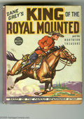 Platinum Age (1897-1937):Miscellaneous, Big Little Book #1179 Zane Grey's King of the Royal Mounted and theNorthern Treasure (Whitman, 1937) Condition: NM-. Hard c...