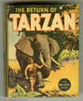 Platinum Age (1897-1937):Miscellaneous, Big Little Book #1102 The Return of Tarzan (Whitman, 1936)Condition: NM-. Adapted from the book by Edgar Rice Burroughs,wi...