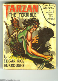 Big Little Book #1453 Tarzan the Terrible (Whitman, 1942) Condition: VF. Hard cover, 432 pages. Adapted from the book by...
