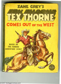 Platinum Age (1897-1937):Miscellaneous, Big Little Book #1440 Zane Grey's Tex Thorne Comes Out of the West(Whitman, 1937) Condition: VF+. Based on the famous adven...
