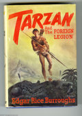 """Books:First Editions, Edgar Rice Burroughs - """"Tarzan and the Foreign Legion,"""" First Edition (Burroughs, 1947). Illustrated by John Coleman Burroug..."""