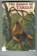 "Books:First Editions, Edgar Rice Burroughs - ""The Return of Tarzan"" (A.L. Burt, 1915).Published in March, 1915, with 365 pages, and the Popular C..."