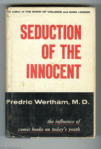"Fredric Wertham, M.D. - ""Seduction of the Innocent,"" First Edition, With the Bibliographical Note (Rinehart, 1..."