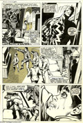 Original Comic Art:Panel Pages, Neal Adams and Tom Palmer - Amazing Adventures #5, page 5 OriginalArt (Marvel, 1971). What inner sixth sense makes Black Bo...
