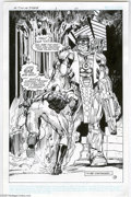 Original Comic Art:Splash Pages, Neal Adams and the Studio - Mr. T and the T Force #1, Splash Page20 Original Art (Now, 1993). First name, Mr, middle name, ...