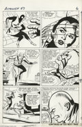 Original Comic Art:Panel Pages, Dick Ayers and Paul Reinman - Tales to Astonish #57, page 13Original Art (Marvel, 1964). Egghead pits Spider-Man against th...