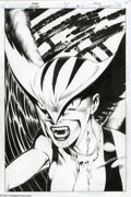 Original Comic Art:Covers, John Byrne and Michael Bair - Hawkman #26 Cover Original Art, Groupof 2 (DC, 2004). Ever a trailblazer on the comics landsc... (2items)