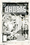 Original Comic Art:Covers, Luis Dominguez - Ghosts #65 Cover Original Art (DC, 1978). Themysterious Far East serves as the backdrop for this haunting ...