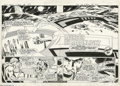 Original Comic Art:Splash Pages, Mike Grell and Vince Colletta - All New Collectors' Edition #C-55Superboy and the Legion of Super-Heroes, Splash pages 20 and...