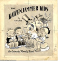 Original Comic Art:Miscellaneous, James Jon - The Katzenjammer Kids by Knerr An Animated Novelty BookCover and Production Original Art, Group of 4 (John Martin... (4items)